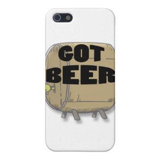 Erhaltenes Bierschwarzes iPhone 5 Cover