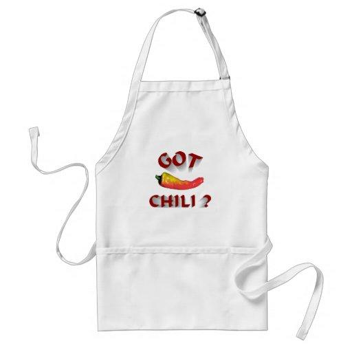 erhaltenes chili-6 schürzen