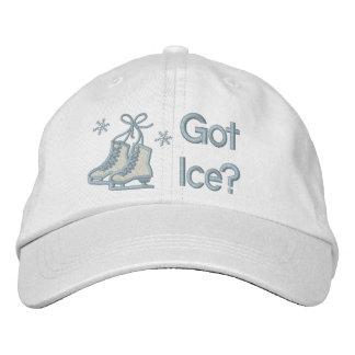 Erhaltenes Eis? Bestickte Baseballkappe