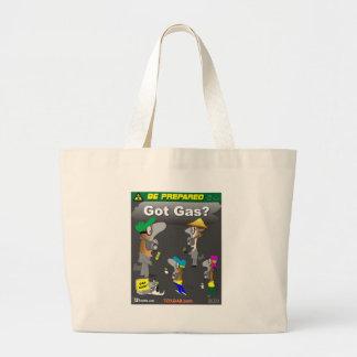Erhaltenes Gas Taschen
