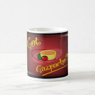 Erhaltenes gazpacho? kaffeetasse