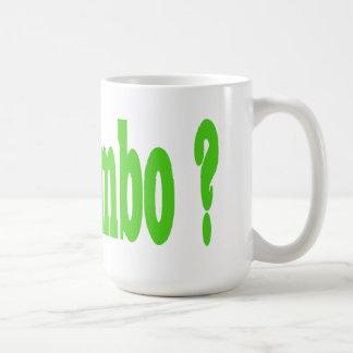 Erhaltenes Gumbo? Kaffeetasse