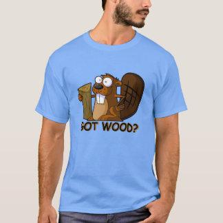 Erhaltenes Holz T-Shirt