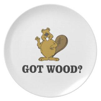 erhaltenes Holz? Teller