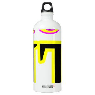 Erhaltenes Kunst IT3 jgibney das MUSEUM Zazzle Wasserflasche