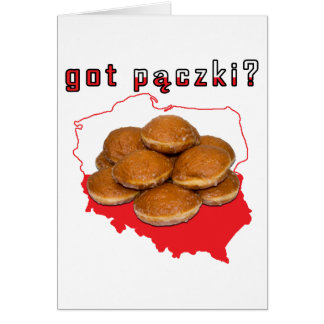 erhaltenes paczki? Polnische Karte