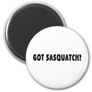 Erhaltenes Sasquatch? Runder Magnet 5,7 Cm