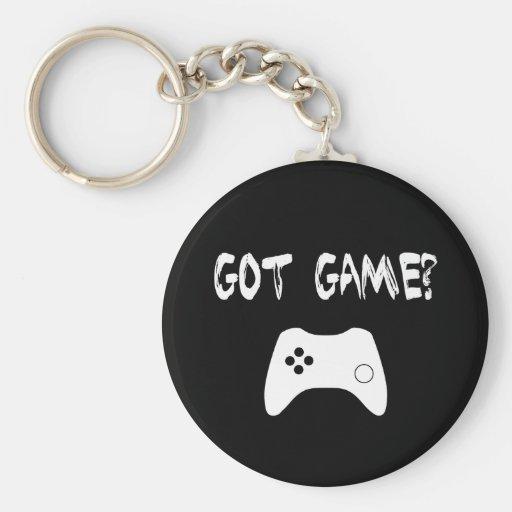 Erhaltenes Spiel?  Lustiger Gamer Keychain Schlüsselbänder