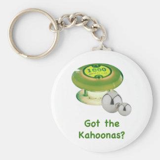 Erhielt den Kahoonas Flipperautomaten Schlüsselbänder