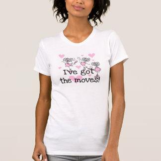 Erhielt die Bewegungs-Ballett-T - Shirts und die