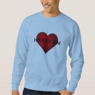 Erhielt ein Herz auf Valentinstag-Sweatshirt Sweatshirt