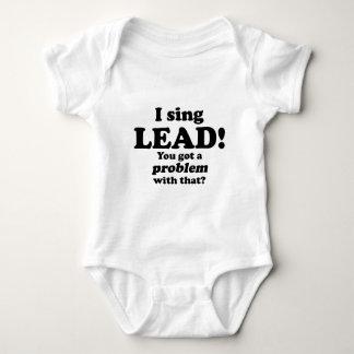 Erhielt ein Problem mit diesem, Führung Baby Strampler