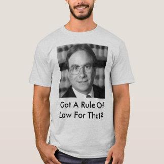 Erhielt einen Rechtsgrundsatz für den? T-Shirt