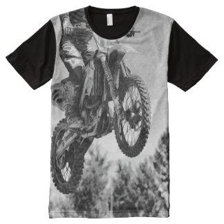 Erhielt etwas Luft! - Motocross-Rennläufer T-Shirt Mit Komplett Bedruckbarer Vorderseite