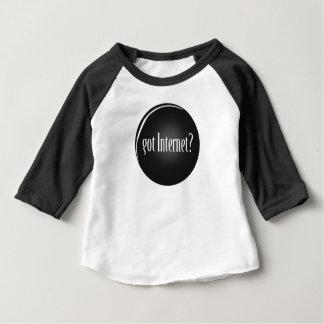 """""""Erhielt Internet"""", Internet, Text erhaltenes Baby T-shirt"""