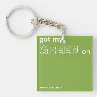 Erhielt mein Grün an Schlüsselanhänger