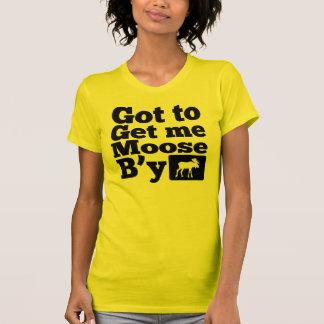 Erhielt, mir Elche B'y zu erhalten T-shirt