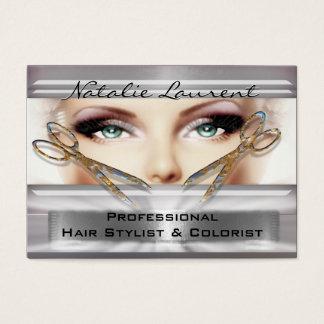 """Erhielt, mit Ihnen Hairstylist-Salon 3,5""""   zu Visitenkarte"""