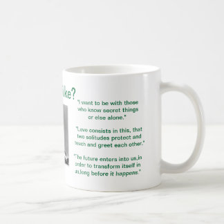 """Erhielt Rilke "" Kaffeehaferl"