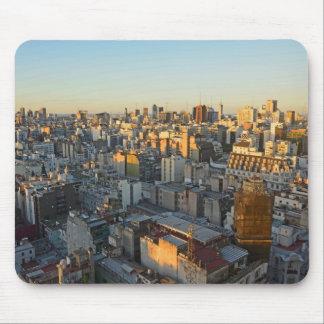 Erhöhte Ansicht über Balvanera Nachbarschaft Mousepad