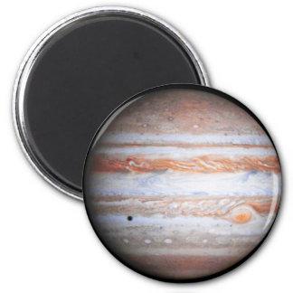 ERHÖHTES Bild der Jupiter Cassini Flyby NASAs Runder Magnet 5,7 Cm