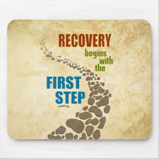 Erholung, der erste Schritt (Schritt 12, mischen Mousepad