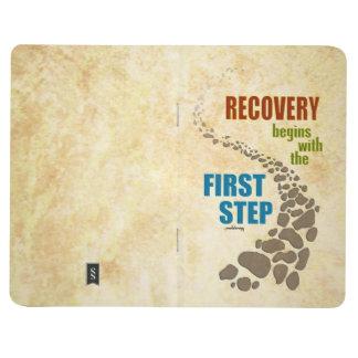 Erholung, der erste Schritt (Schritt 12, mischen Taschennotizbuch