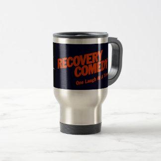 Erholungs-Komödien-Reise-Tasse Reisebecher