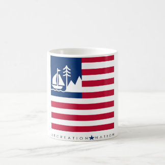 "Erholungs-Nations-""Marken-"" Tasse"