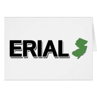 Erial, New-Jersey Karte