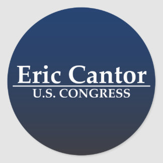 Eric-Kantor US-Kongreß Runder Aufkleber