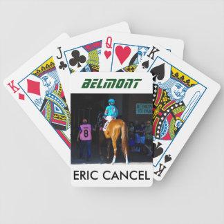 Eric-Löschen-Himmel-Chaparral Bicycle Spielkarten