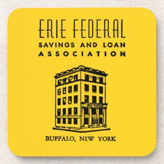 Erie-bundesstaatliches Spar- und Darlehens Untersetzer