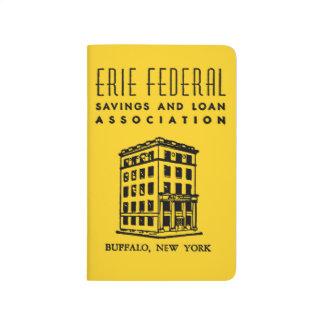 Erie-bundesstaatliches Spar- und Darlehens Notizbuch