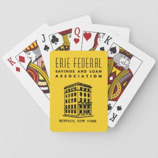 Erie-bundesstaatliches Spar- und Darlehens Kartendeck