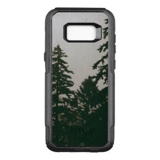 Erie-WaldwaldKiefer-dunkle Natur-Kiefern OtterBox Commuter Samsung Galaxy S8+ Hülle