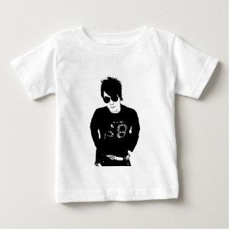 Erik-Briefmarken-Holzschnitt-Geldstrafe-Ausschnitt Baby T-shirt