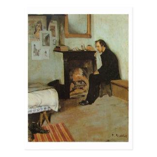Erik Satie Postkarte