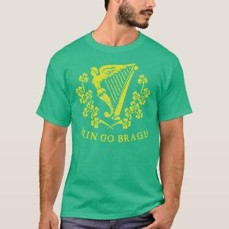 Erin gehen Bragh Harfen-T-Shirts T-Shirt