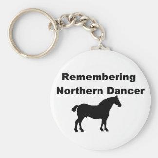 Erinnern an Nordtänzer Schlüsselanhänger