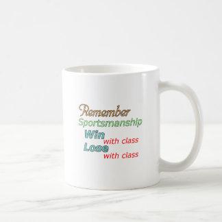 Erinnern Sie sich an Fairness Kaffeetasse
