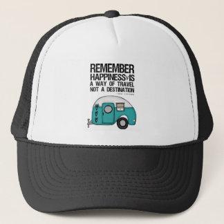 erinnern Sie sich an Glück Truckerkappe
