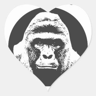 Erinnern Sie sich an Harambe Herz-Aufkleber