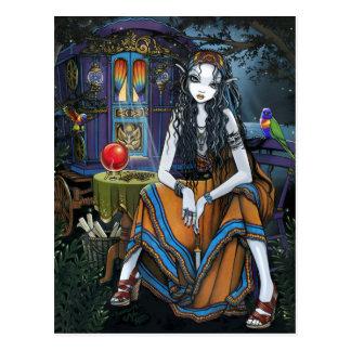 Erinnern Sie sich an mich böhmische Sinti und Postkarte