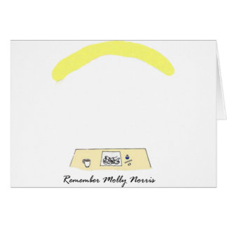 Erinnern Sie sich an Molly Norris Karte