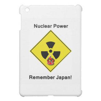 Erinnern Sie sich an nukleares Antilogo Japans iPad Mini Hülle
