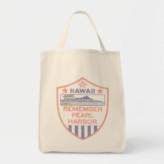 Erinnern Sie sich an Pearl Harbor Einkaufstaschen