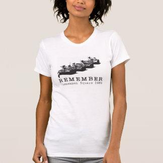 Erinnern Sie sich an Tiananmen-Platz T-Shirt