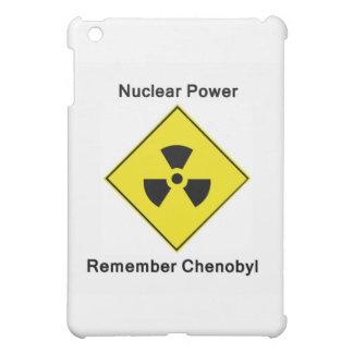 Erinnern Sie sich Chenobyl an nukleares Antilogo iPad Mini Hülle