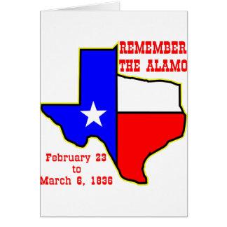 Erinnern Sie sich das an Alamo #002 Karte